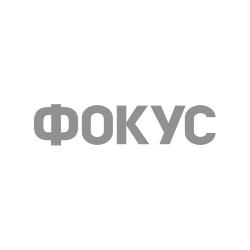 чорно-біле лого Фокус